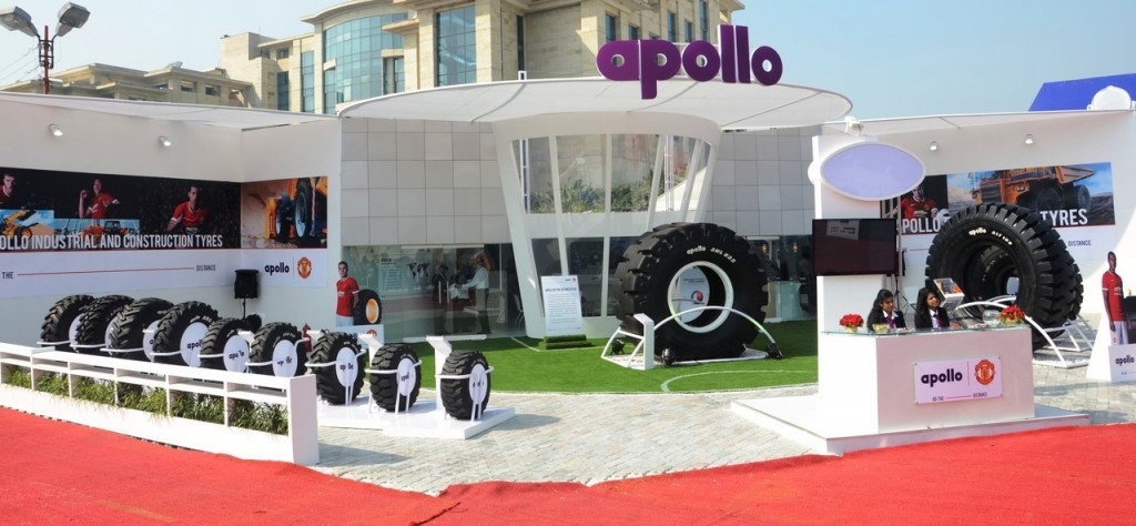 Apollo's display at IMME 2014
