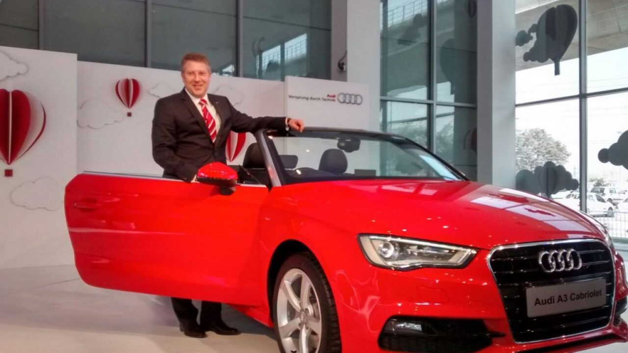 Audi A3 Cabriolet Launched A 242 Kmh Drop Top For 4475 Lakh