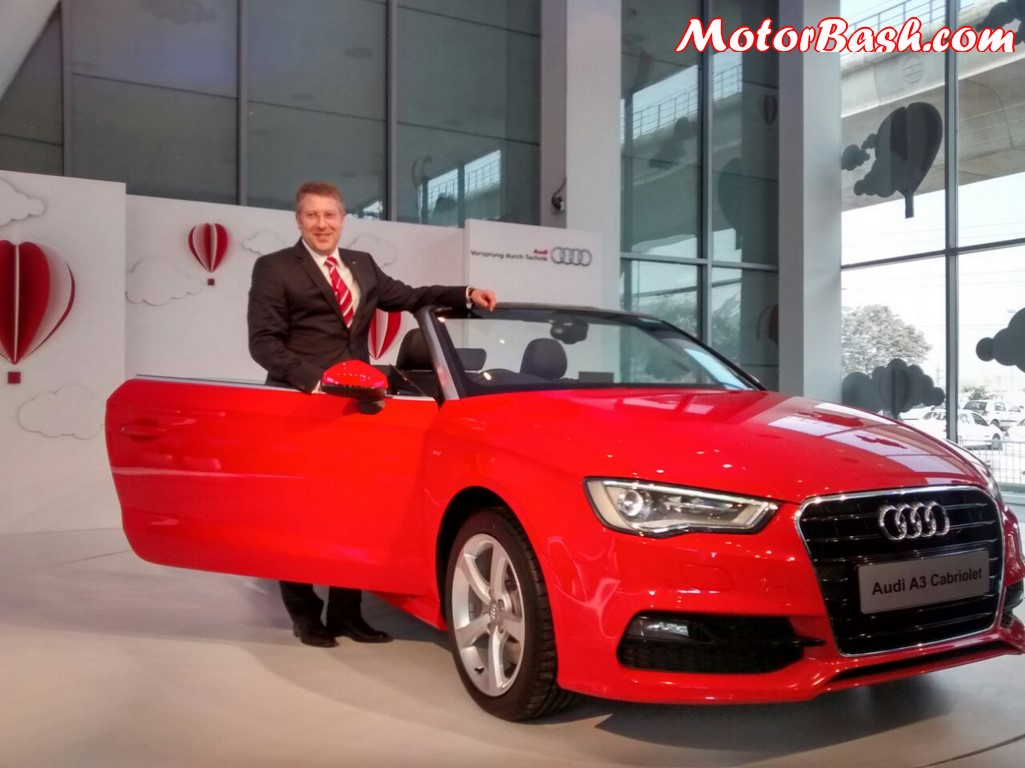 Audi A3 Cabriolet Launch