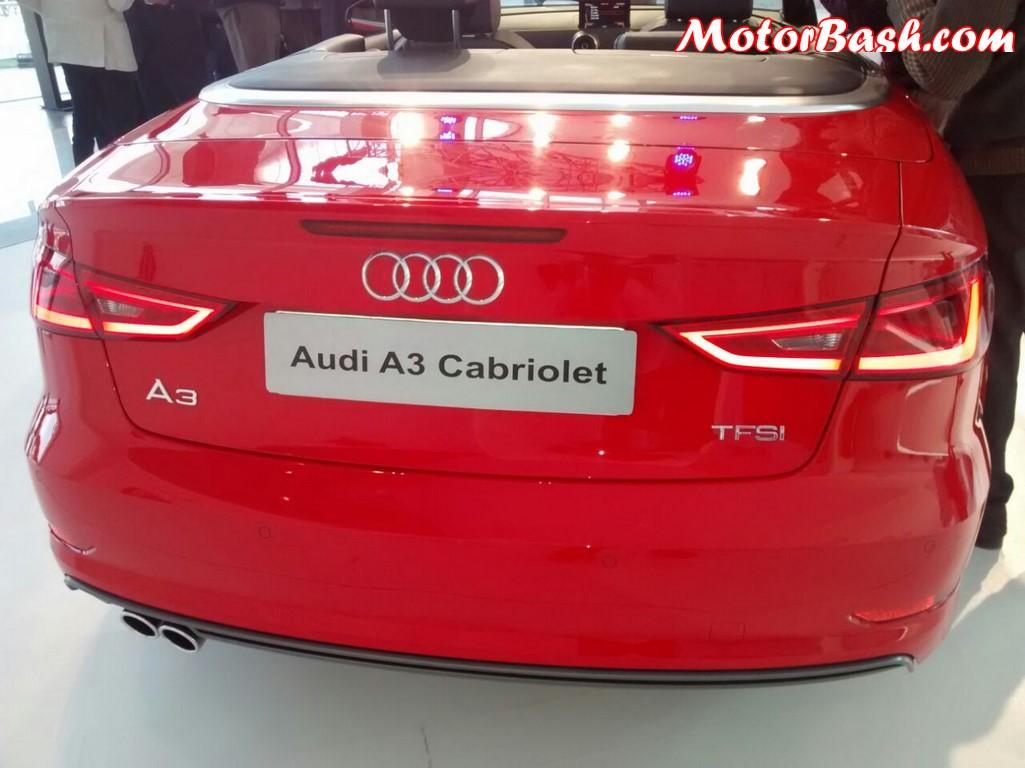 Audi A3 Cabriolet rear