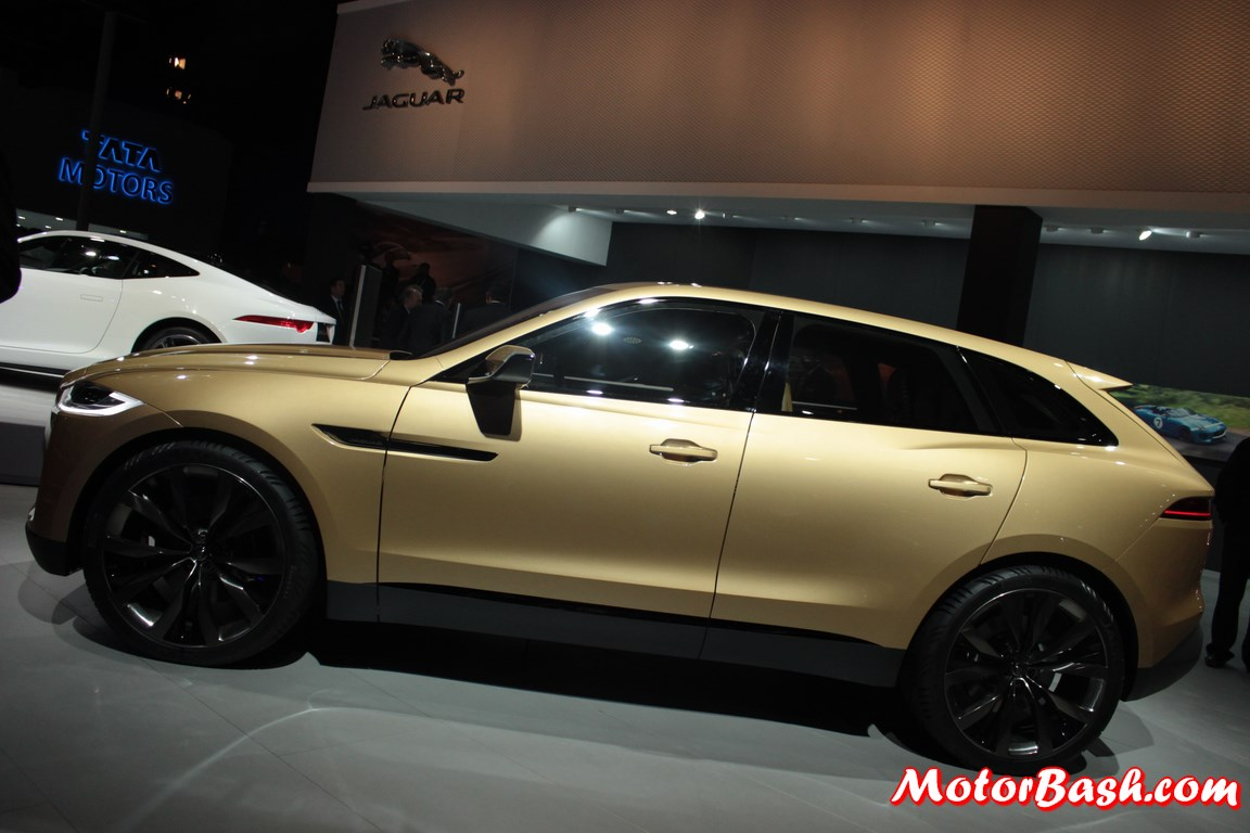 Jaguar S Upcoming C X17 Suv Is F Pace Launch Next Year