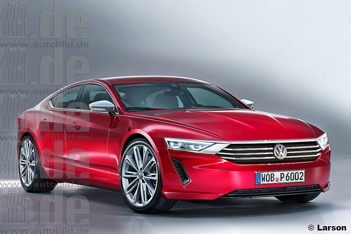 Volkswagen Reportedly Working On A 5 Series And E Class Rival