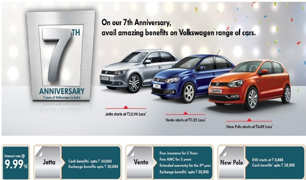 Volkswagen Anniversary Benefits