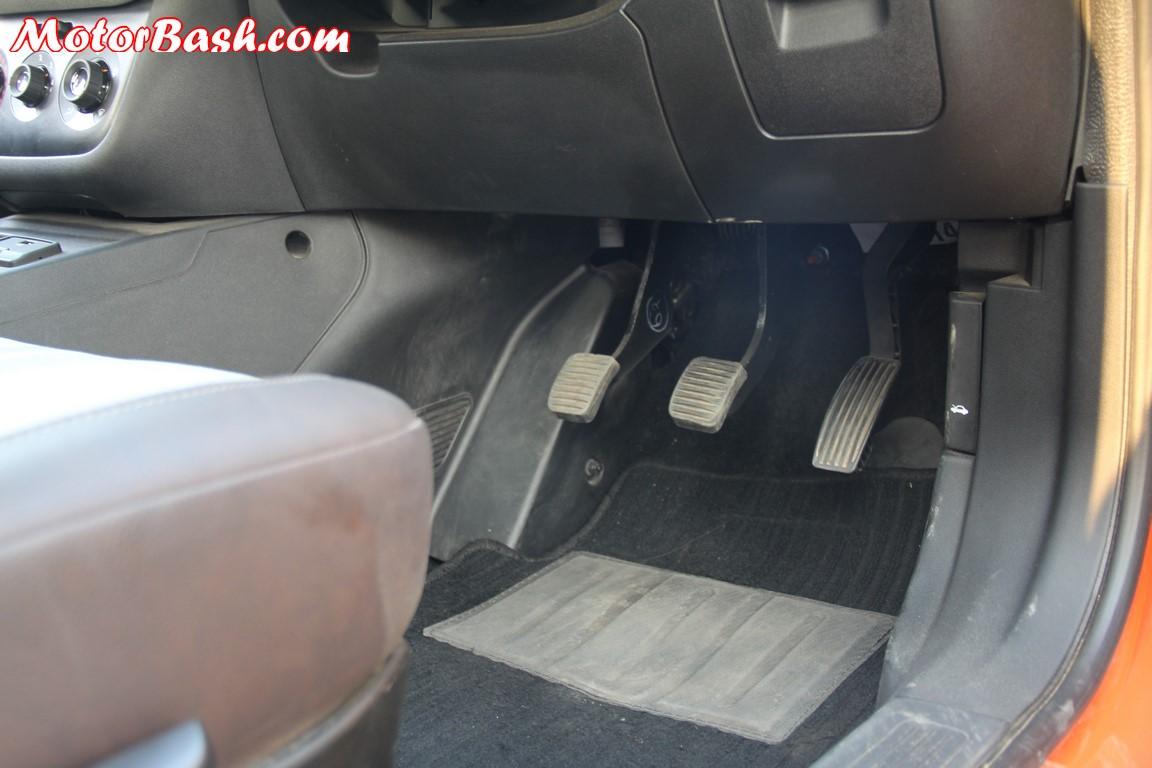 Fiat Avventura Driver Footwell