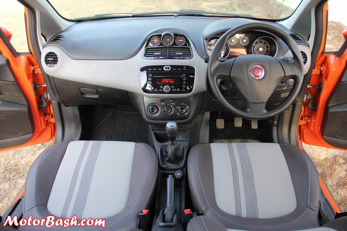 Fiat Avventura Interiors