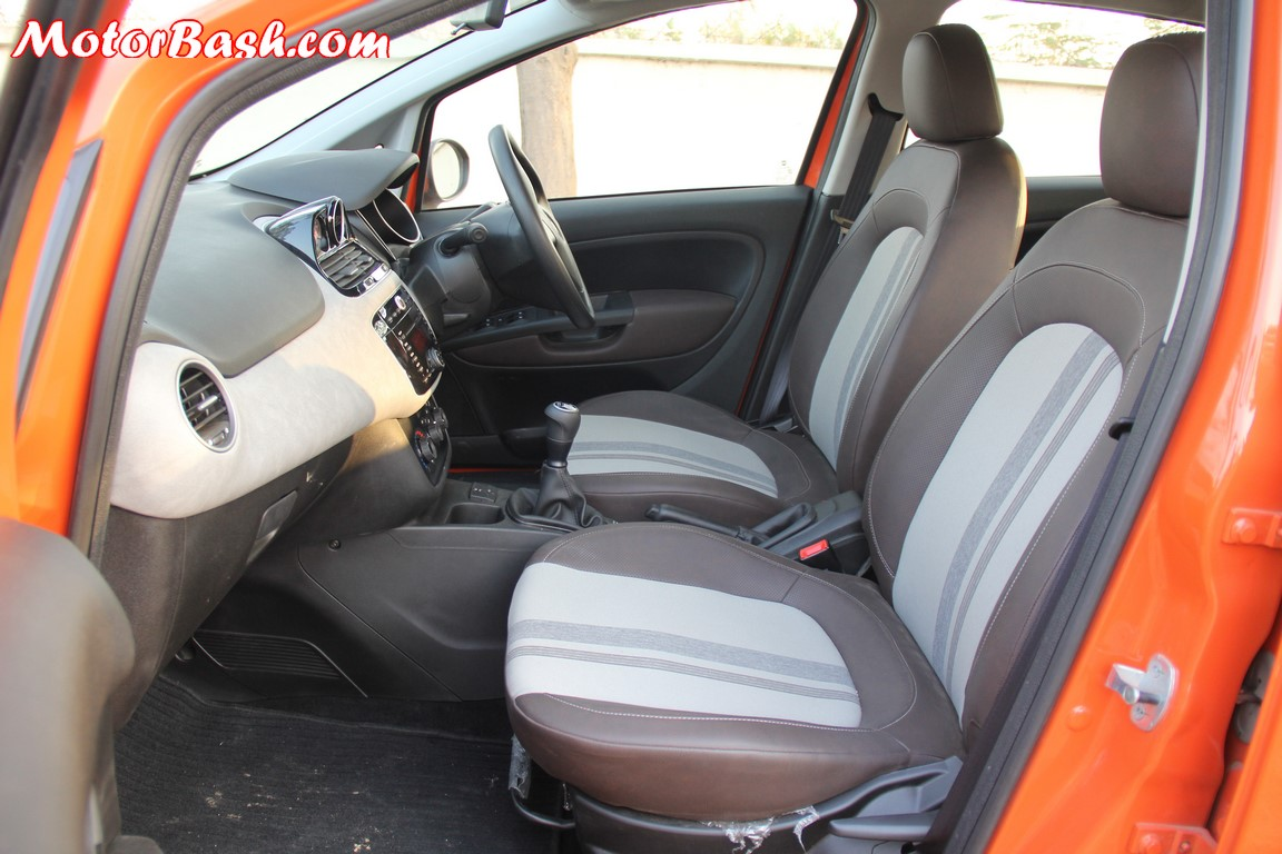 Fiat Avventura front seats
