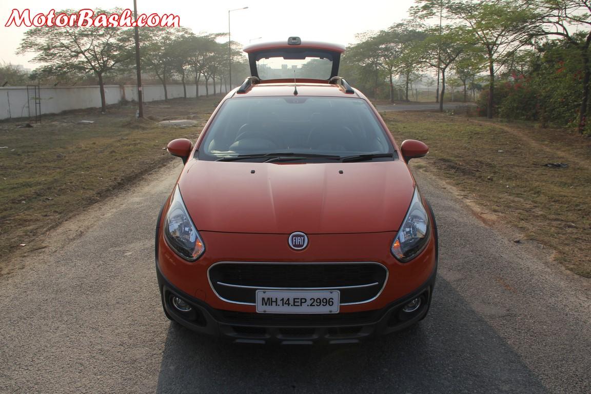 Fiat Avventura rear hatch open