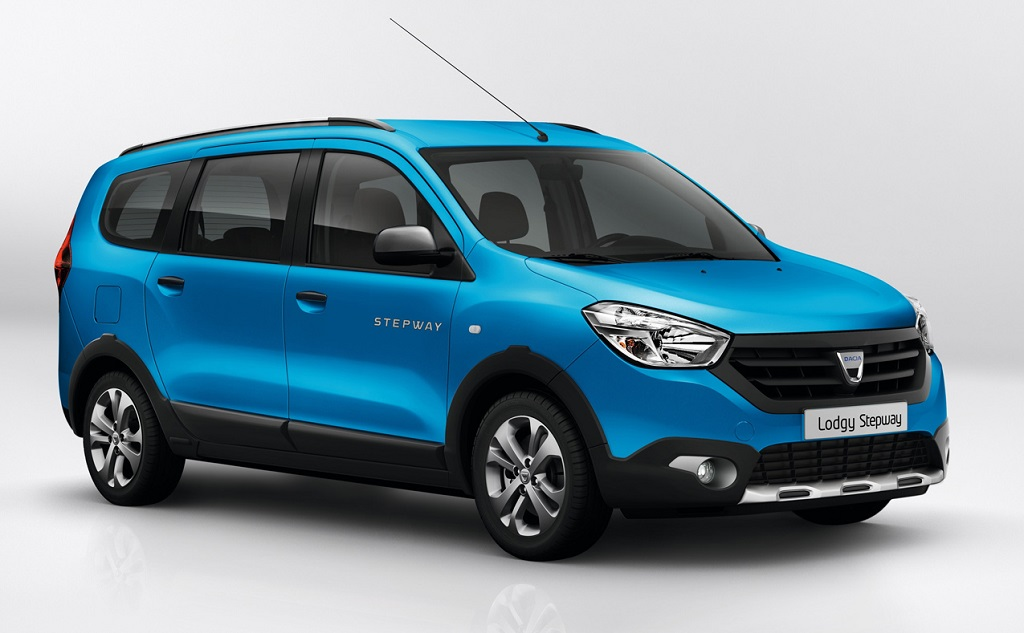 Renault-Dacia-Lodgy-Stepway-Pics-Blue-Front