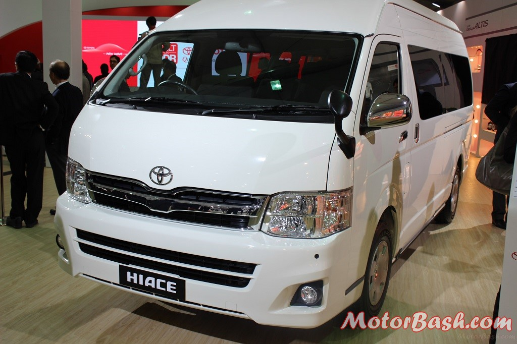 toyota confirms launch of 10 seater hiace in india this year
