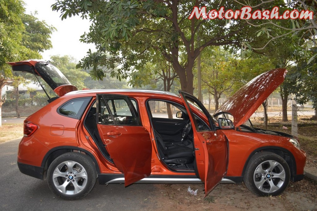 BMW X1 explode