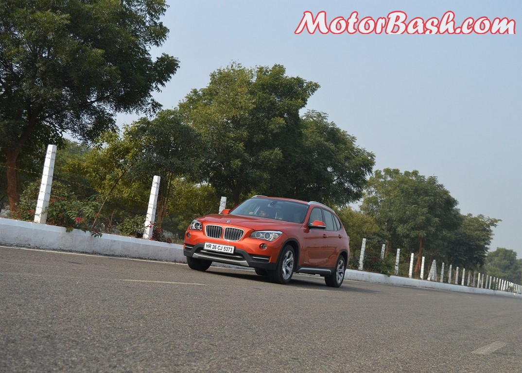 BMW X1 in motion