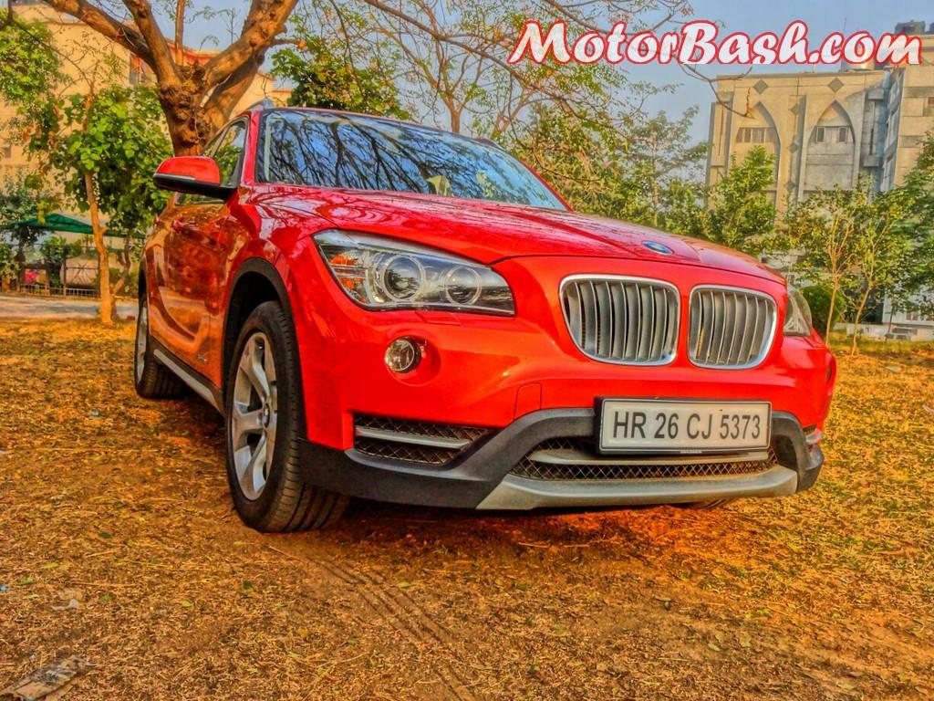 BMW X1 portrait