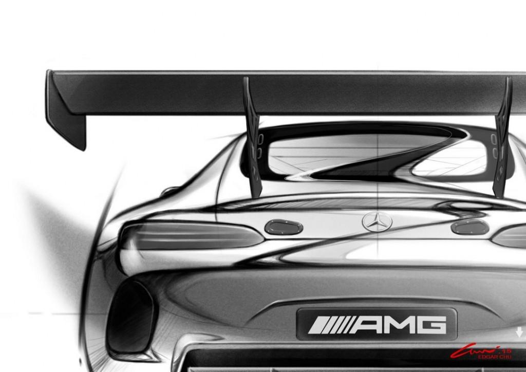 Mercedes AMG GT3 rear