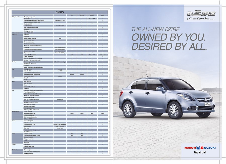 New-2015-Maruti-Dzire-Facelift-Brochure
