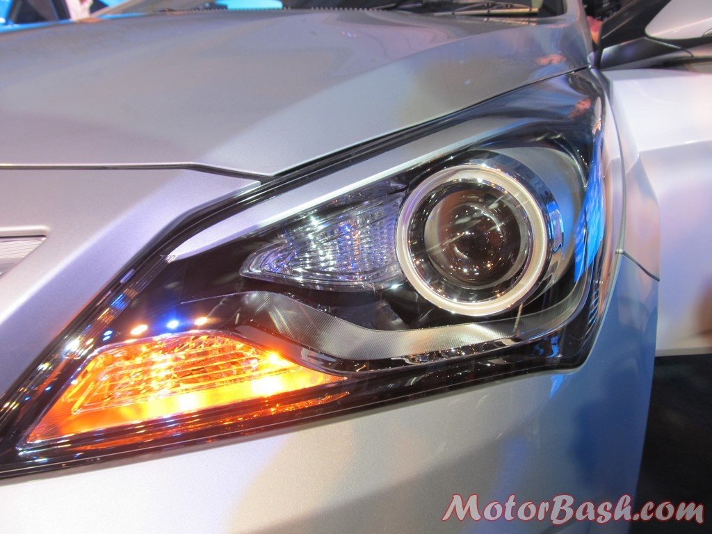 Verna update head lamp