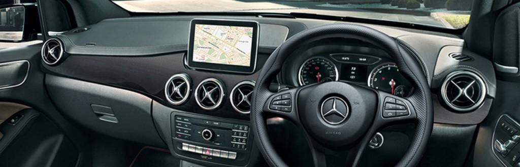 2015 Mercedes B Class interiors