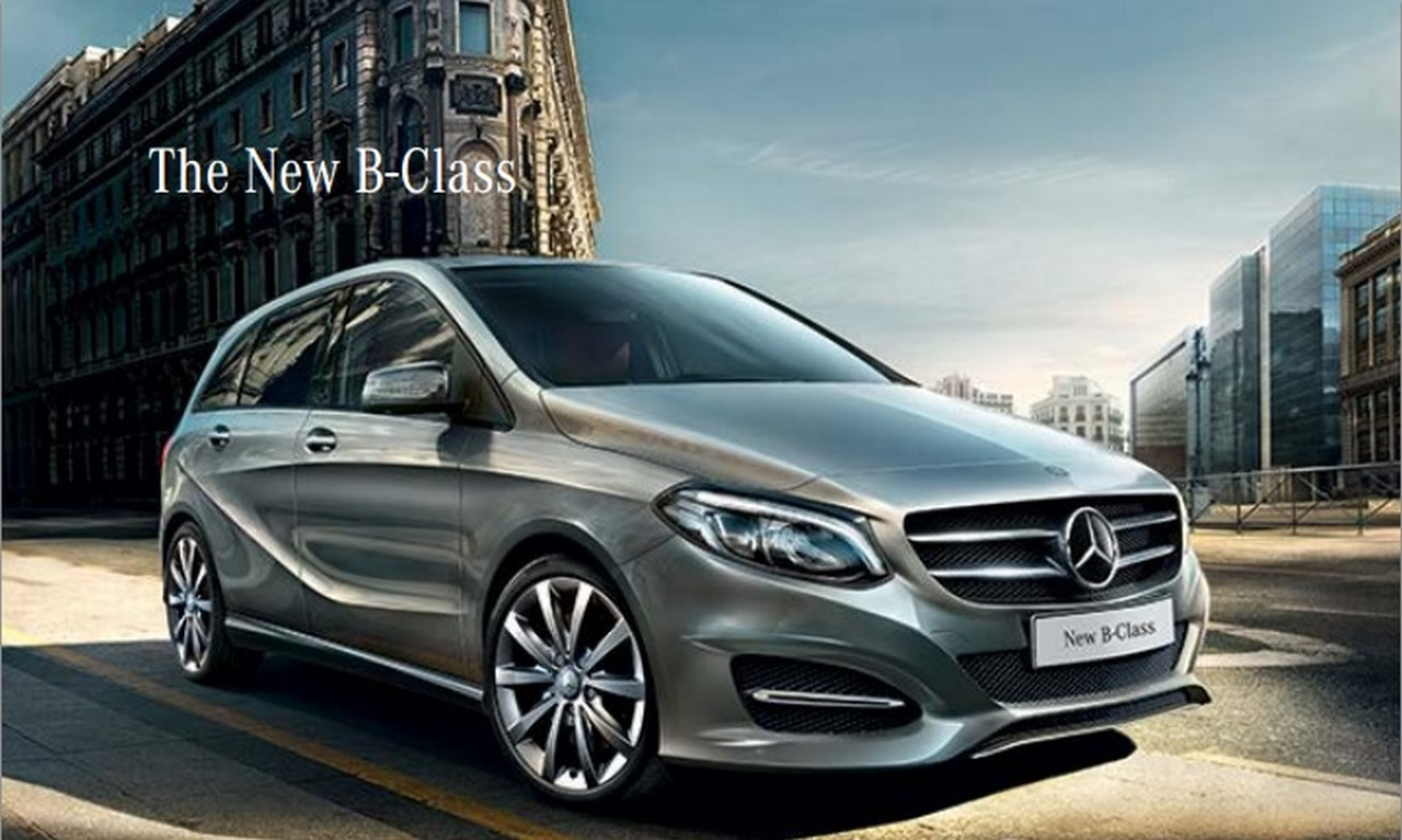 new 2015 mercedes b class facelift launched price variants features. Black Bedroom Furniture Sets. Home Design Ideas