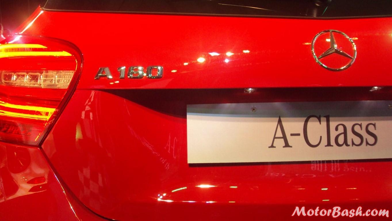 A-Class rear