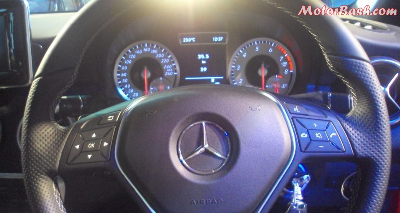 A-Class steering wheel
