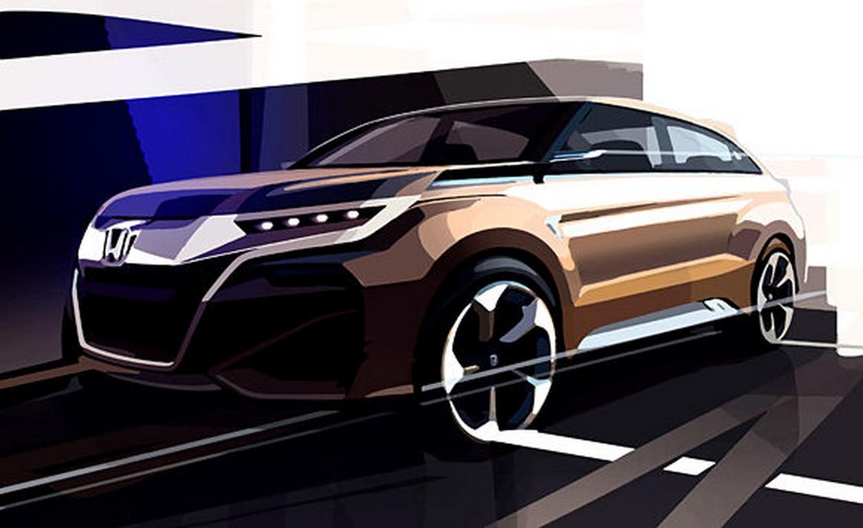 Honda SUV concept Auto Shanghai 2015