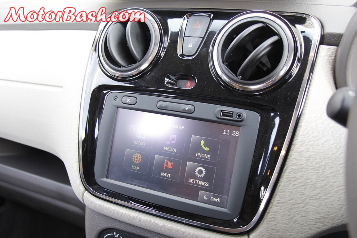 Lodgy Infotainment System