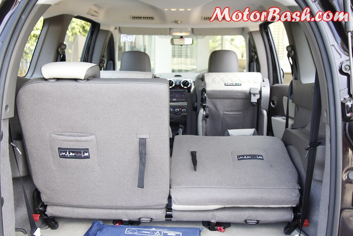 Lodgy folding seats