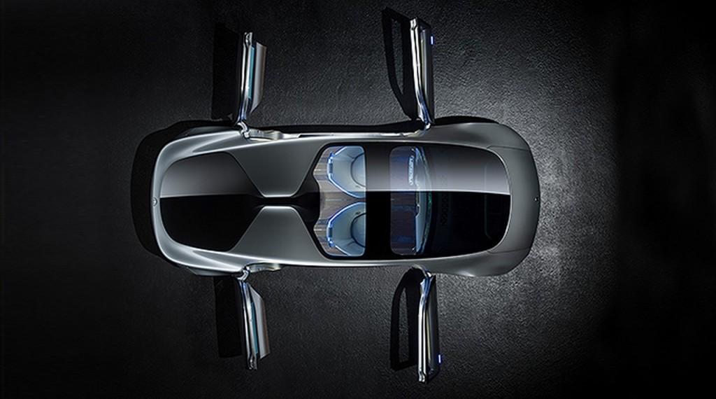 Mercedes Benz F 015 top