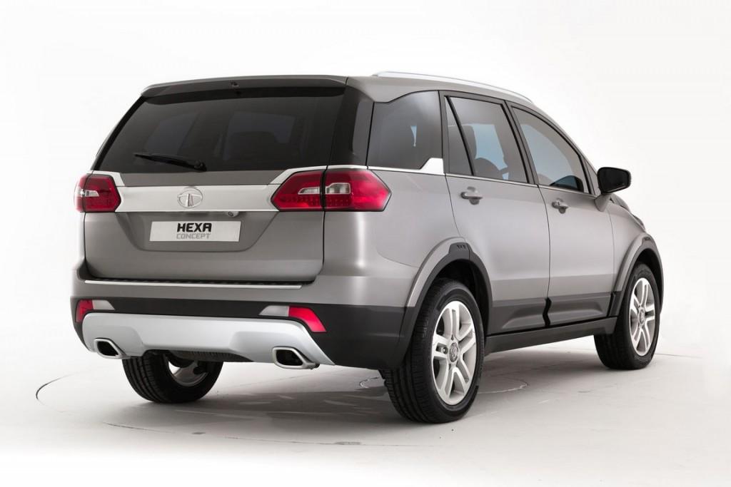 Tata Hexa Concept 5