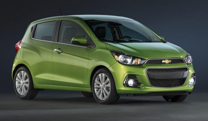 All-New-2016-Chevrolet-Spark-Beat-Front