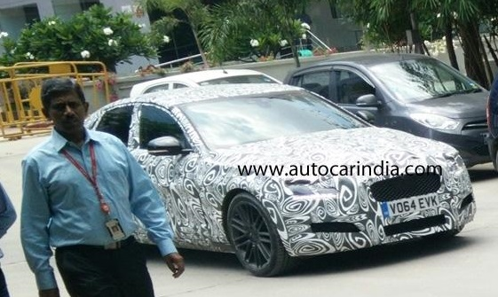All-New-2016-Jaguar-XF-Spied-India