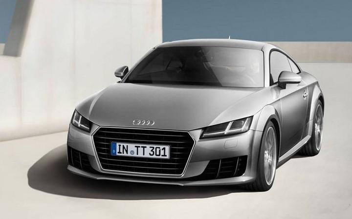 Audi TT Coupe front
