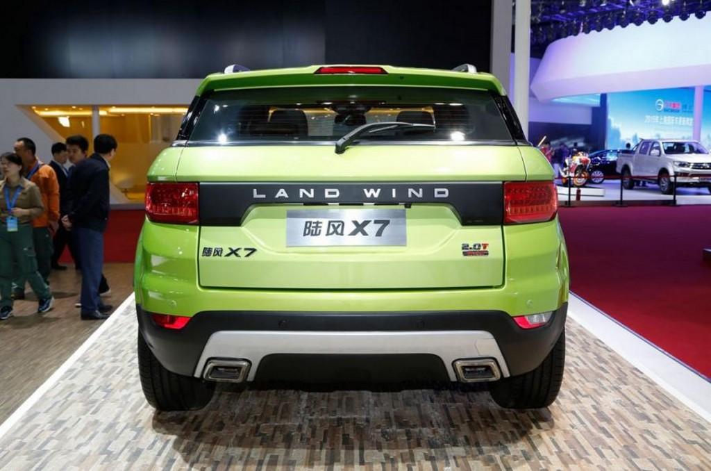 LandWind X7 rear