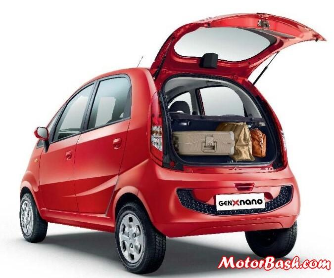 Tata-Nano-GenX-AMT-pic-Rear-Boot-Spare