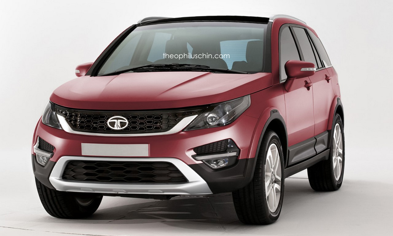 Tata S Q501 Q502 Suv Speculative Render Pics
