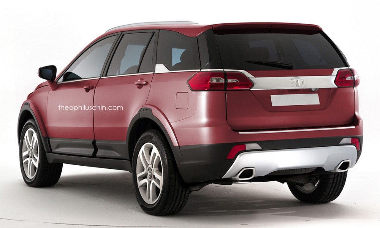 Tata Q501 rear rendering