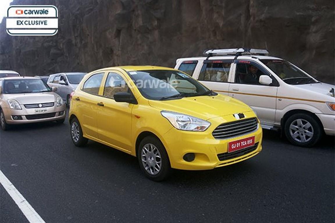 New Figo Caught in Yellow Along with Figo Aspire; Will it ...