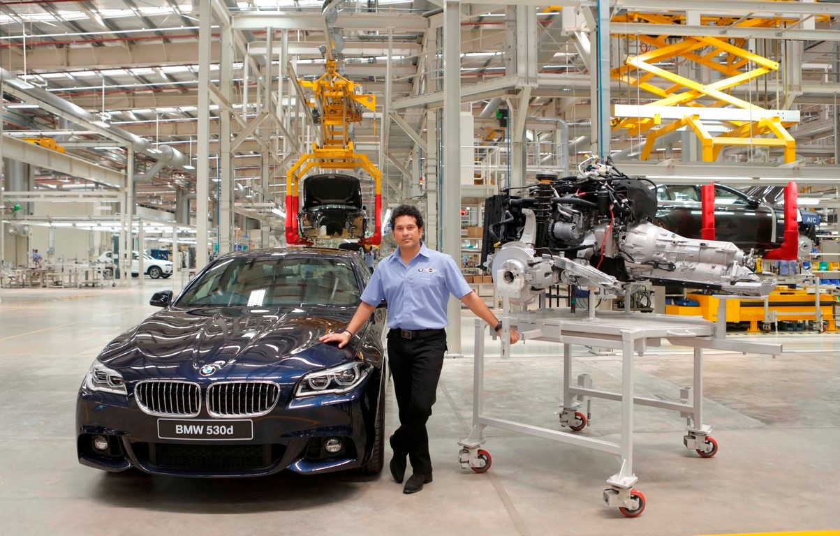 BMW Announces 50% Localisation on its Cars at Chennai Plant