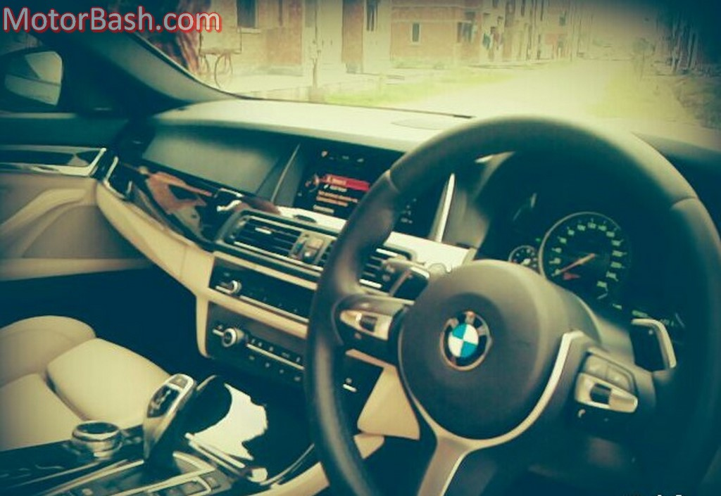 BMW 530d M Sport interiors