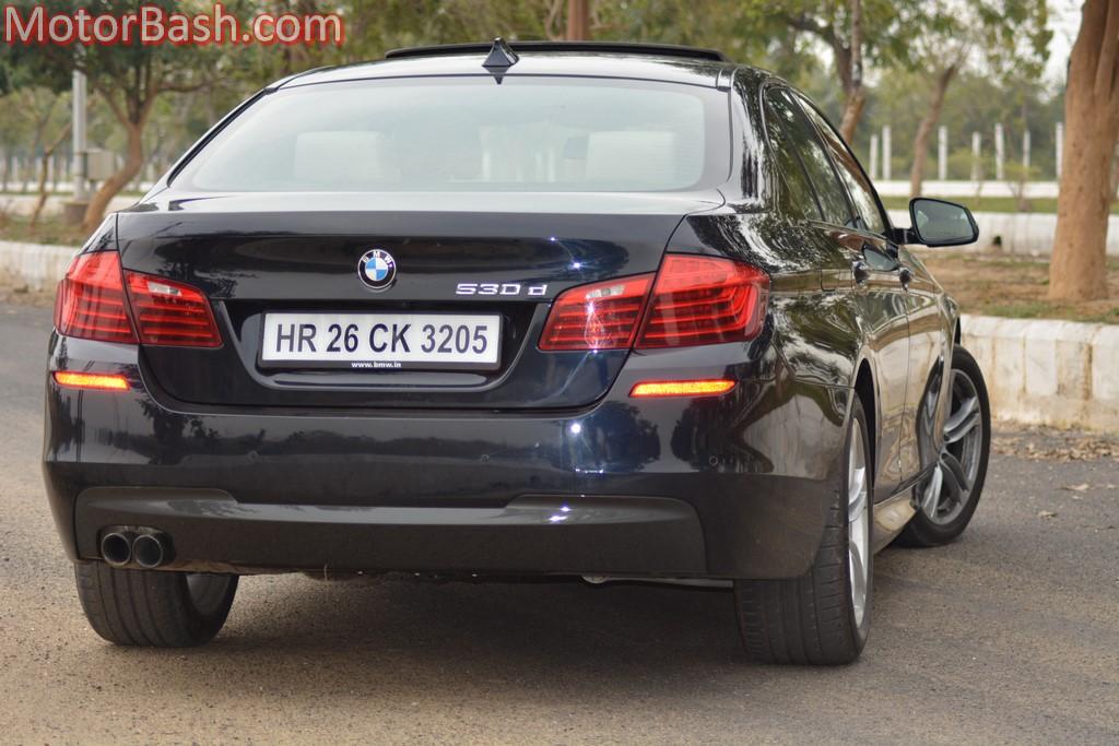 BMW 530d M Sport rear