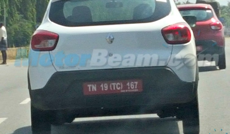 Renault KWID's 800cc Engine – First Ever Pics; Spotted on the