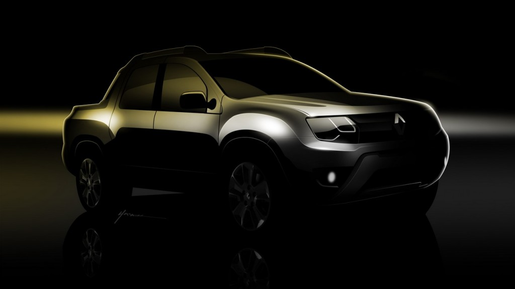 Renault Duster pick-up front