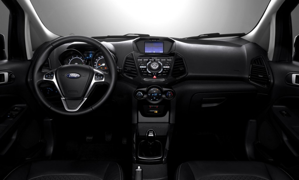 2015 Ford EcoSport interiors