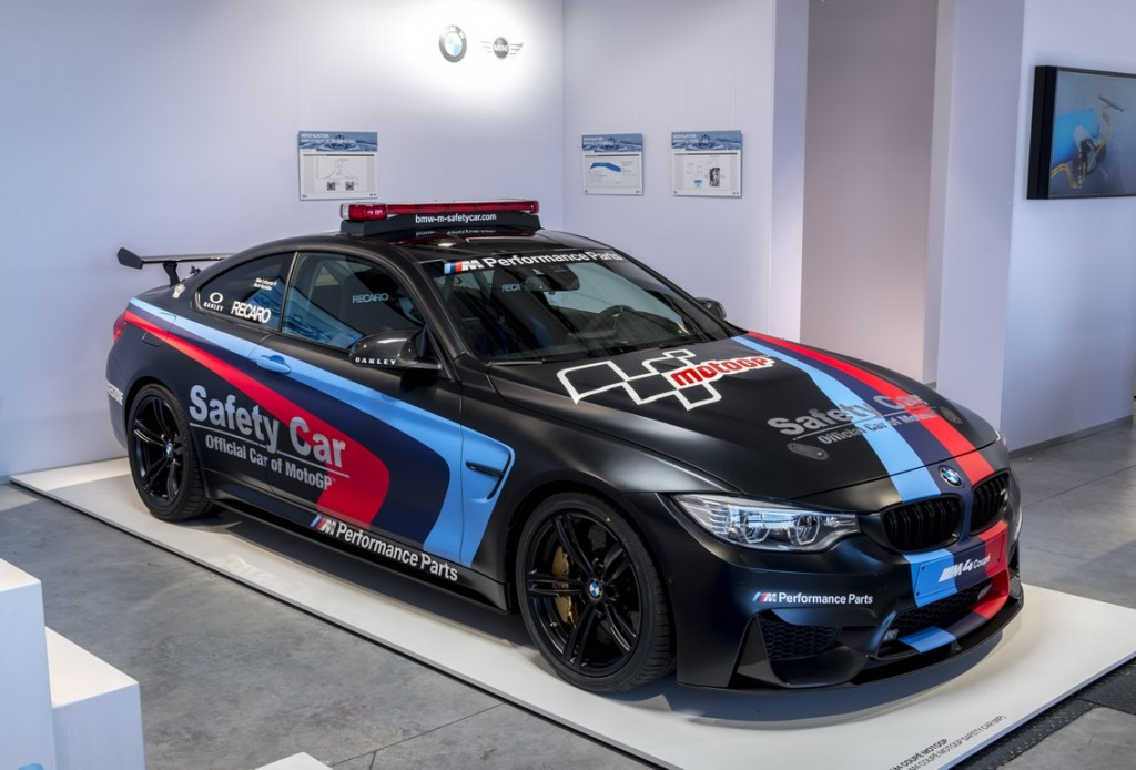BMW M4 MotoGP safety car 1