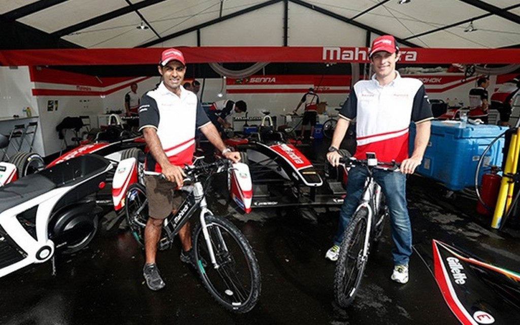 Bruno Senna Karun Chandhok Mahindra Racing Formula E Miami GenZe