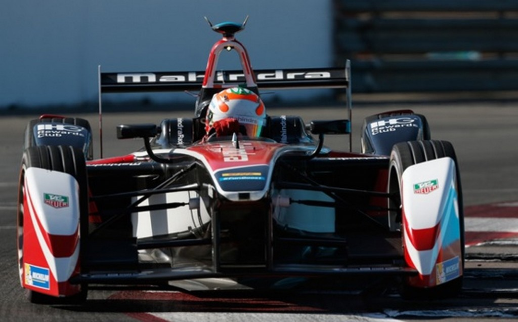 Bruno Senna Mahindra Racing Formula E Long Beach