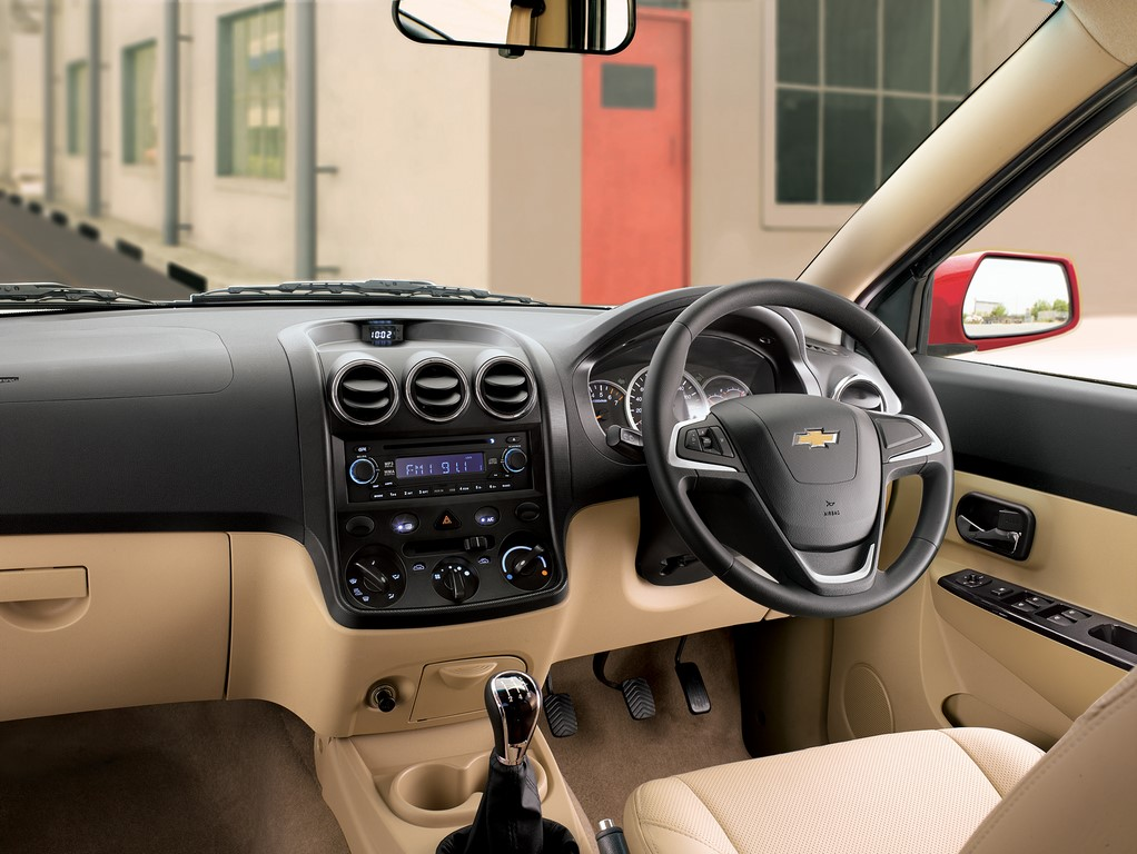 Chevrolet Enjoy dash