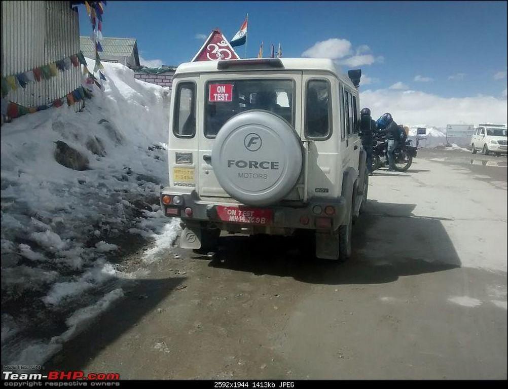 Force Gurkha rear spy shot