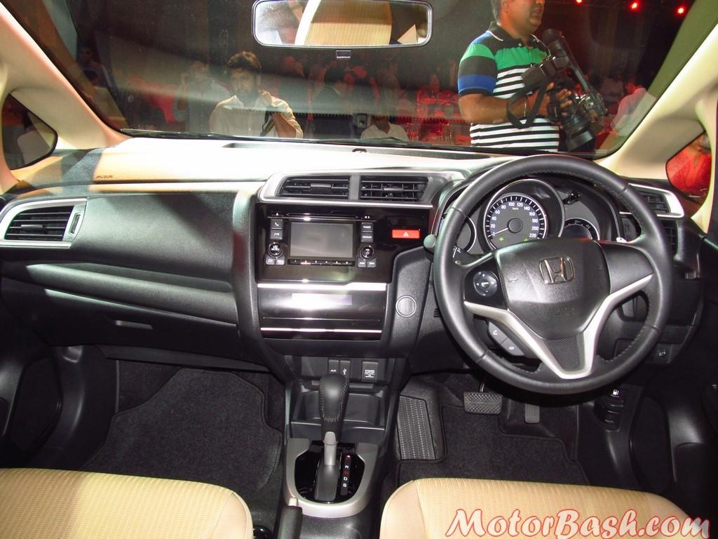 Honda Jazz interiors 4