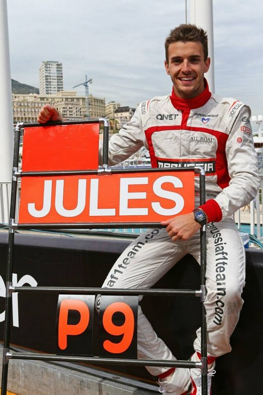Jules Bianchi Monaco May 25, 2014