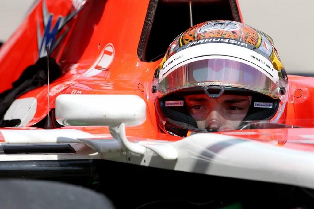 Jules Bianchi Suzuka 2014